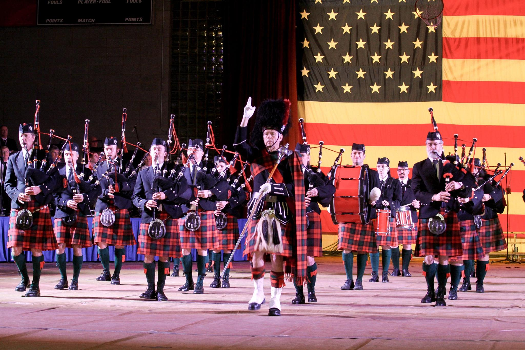 Washington Memorial Pipe Band