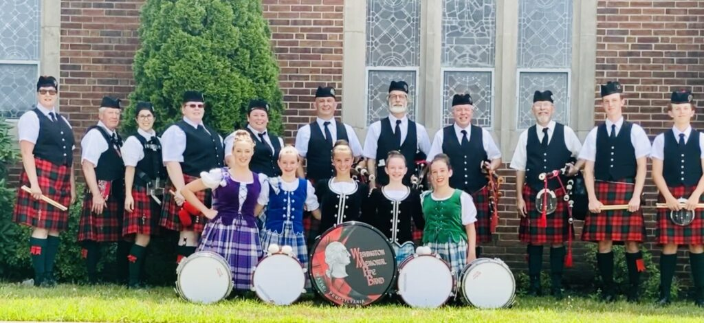 Pipers and Dancers August 2020