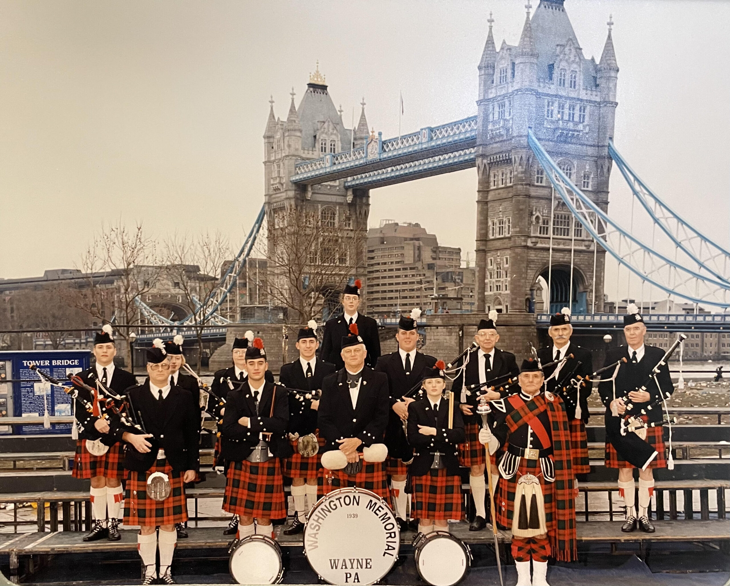 Pipe Band in London